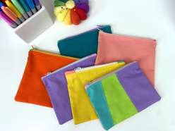 Mister Larrie's Sewing Camp Zipper Pouch