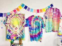 Mister Larrie's Craft Camp Tie-Dye