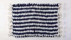 Woven Finger-Knit Rug
