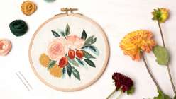 Embroidered Florals