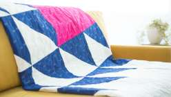 Piecing Large-Scale Patchwork Quilts