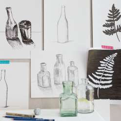 Learn how to add shading to your still life drawings to create realistic pen and pencil renderings