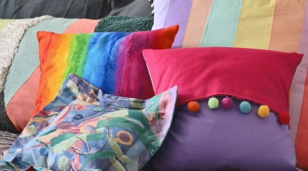 Mister Larrie's Sewing Camp Pillow Sham
