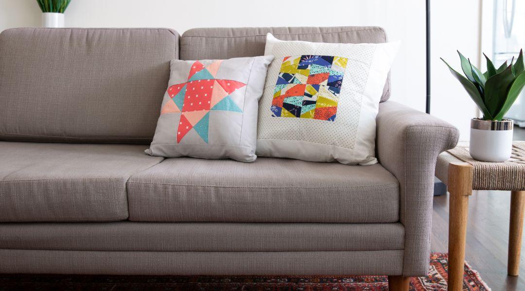 Single Block Projects: Quilt Block Pillow