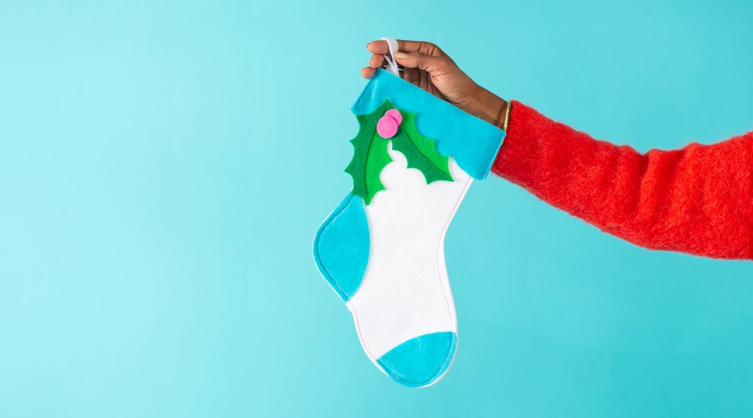 Cricut Crafts: Felt Christmas Stocking