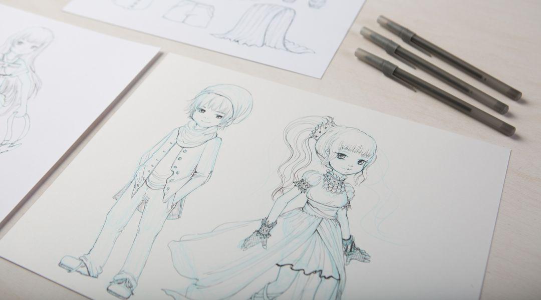 Manga Drawing: How to Draw Clothing