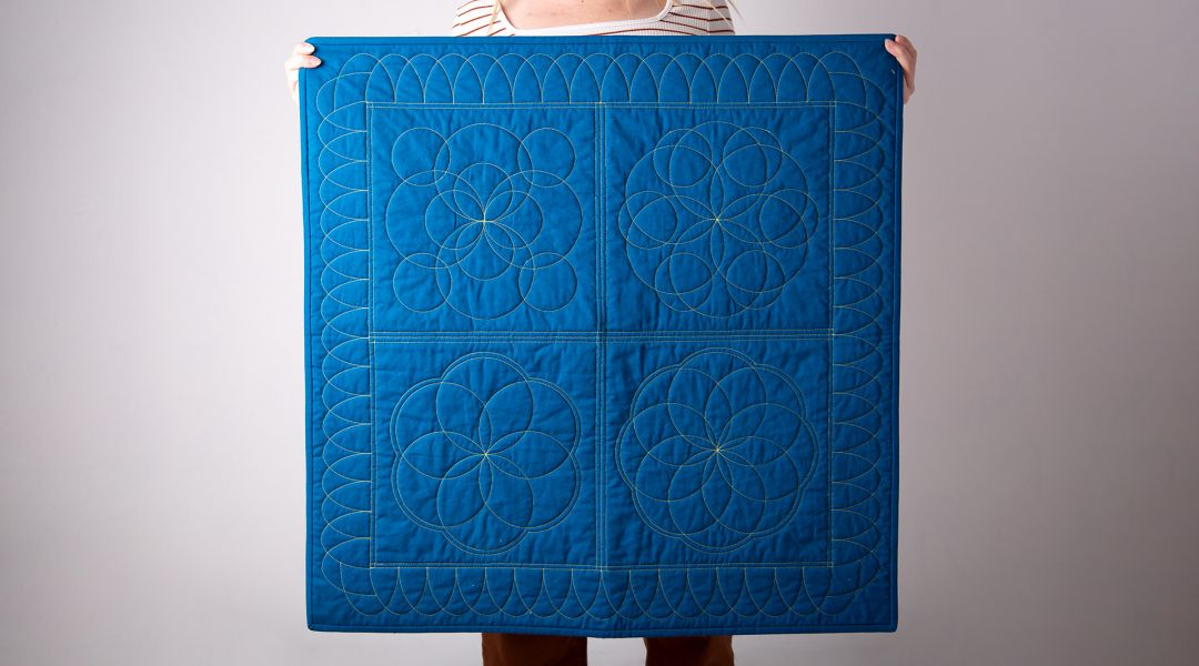 Ruler Work for Quilting - Ovals and Circles