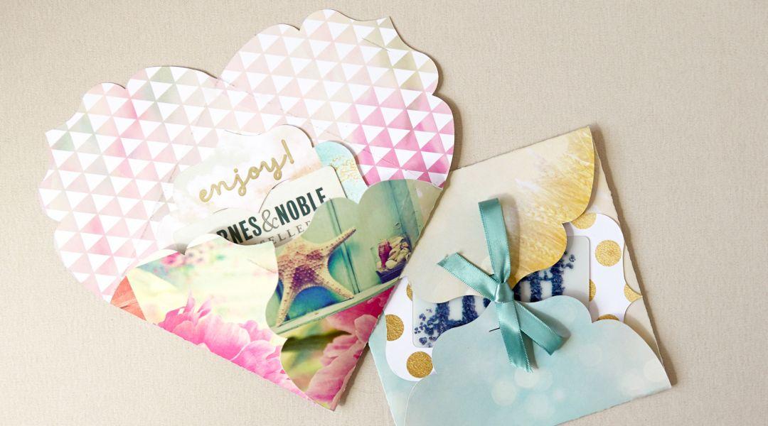 Cricut Crafts: DIY Gift Card Holder and Envelope