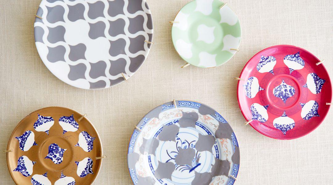 Cricut Crafts: Make Decorative Painted Plates