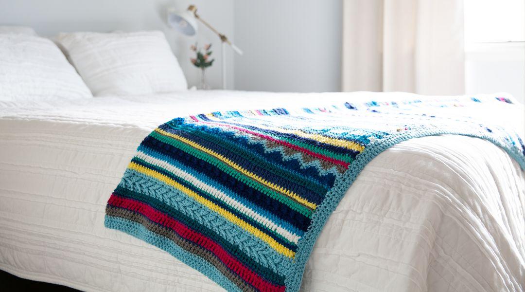 Crochet a Southwestern Throw