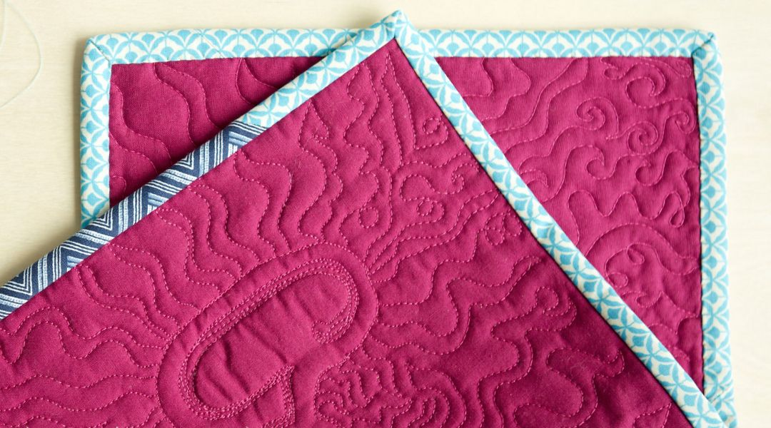 How to Attach Binding Tape