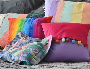 Mr. Larrie Sewing Camp: Pillow Sham