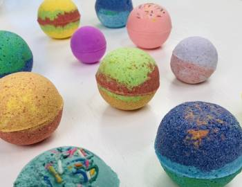 Mister Larrie's Craft Camp Bath Bombs
