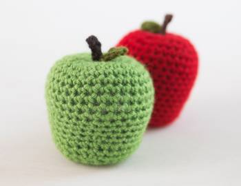 Crocheted Apple