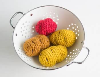 Crocheted Potato