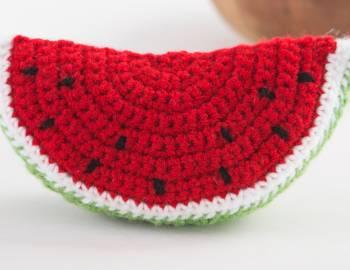Crocheted Watermelon