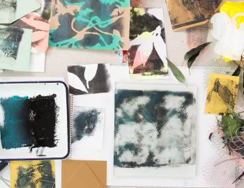 Playing with Surface Design: Monoprinting