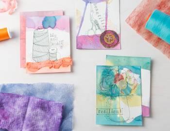 Art Journaling: Mixed Media on Paper