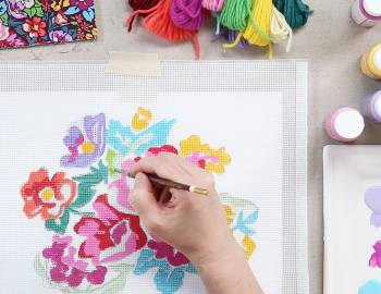 Design Your Own Needlepoint Canvas