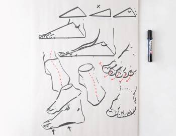 Foundational Figure Drawing: Hands and Feet