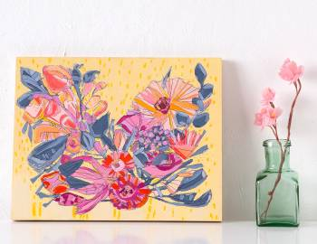 Painting Abstract Florals