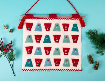 Sew an Advent Calendar using EZ Quilting Templates