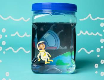 STEAM: Make a Sea Monkey Habitat