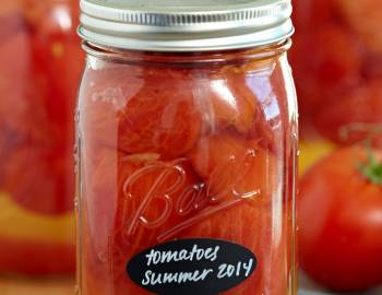 Canning Basics: How to Can Tomatoes