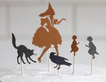 Cricut Crafts: Make Halloween Cupcake Toppers