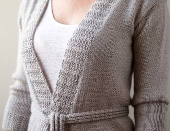 Top-Down Sweater Knitting: Finishing Your Set-In-Sleeve Sweater