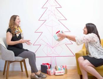DIY Christmas Tree String Art