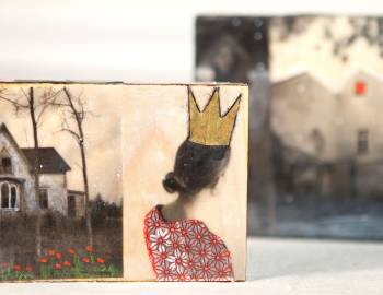 Beeswax Collage