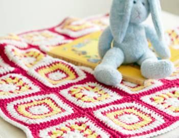 Granny Squares Baby Blanket