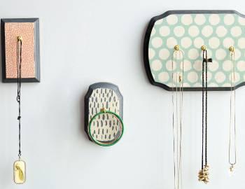 DIY Room Décor: Decoupaged Jewelry Holder