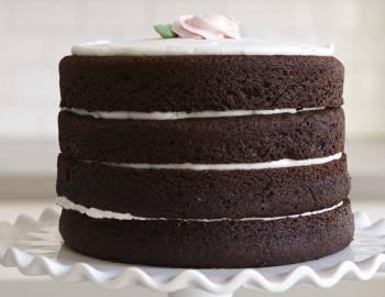 The Wilton Method of Cake Decorating: Bake a Naked, Layered Chocolate Cake