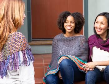 Crochet Shawl Workshop: Side-to-Side Shawl