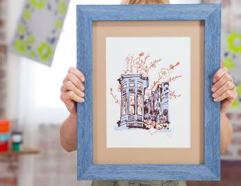How to Cut a Mat and Frame Your Artwork