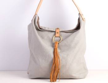 Sew a Linen Bucket Bag